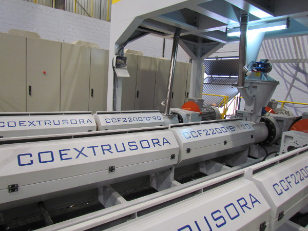 Extrusion Coating - Carro Gofrador