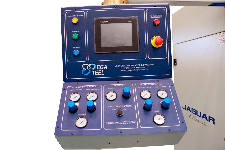 Automação e Controle da Rebobinadeira Jaguar Classic CS