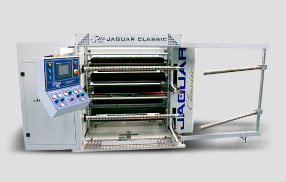 Rebobinadeira Jaguar Classic 2016 - Sistema de Corte