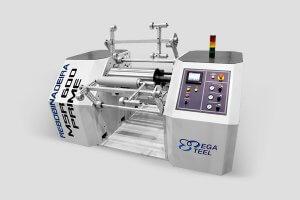 Rebobinadeira de Stretch MSR Mega Steel Máquinas